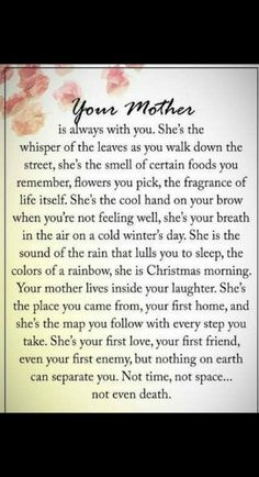 Gah I miss my mom more then anything! Sucks so bad even today. Mother Poems, Mom Poems, Funeral Poems For Mom, Loss Of Mother Quotes, Funeral Quotes, Sister Poems, Grief Poems, Mothers Day Quotes, Mom In Heaven Quotes