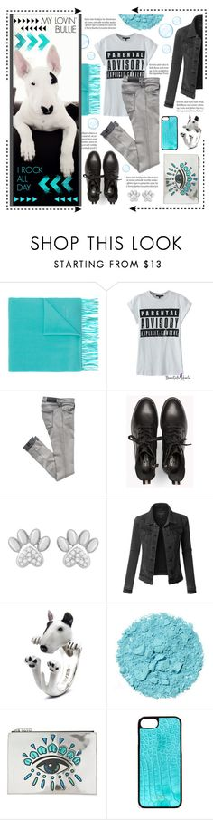 """MY LOVELY DOG"" by celine-diaz-1 ❤ liked on Polyvore featuring Boutique Moschino, LE3NO, Dog Fever and Kenzo"