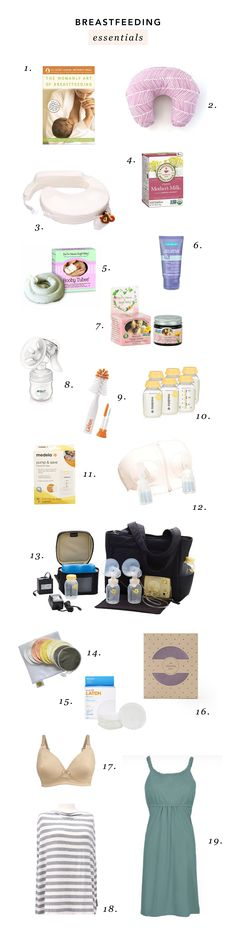 Everything You Need For Breastfeeding | The Mama Notes