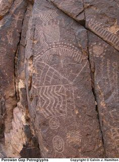 Parowan Gap Petroglyph  Calvin J. Hamilton