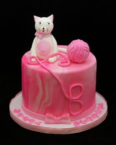cat cake | Cat Birthday Cakes