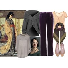 """""""Antique Winter, home edition"""" by vesna on Polyvore"""
