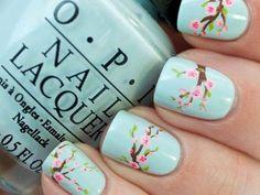 10 ideas para recibir la primavera en tus uñas
