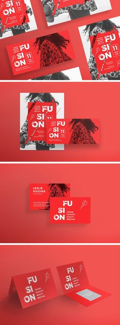 Flashing Red Templates Pack by Amber Graphics #businesscard #flyer