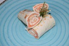 Flautas o rollitos de salmón ahumado, receta fría muy fácil en 5 minutos - Antojo en tu cocina Flautas, Quesadillas, Quiches, Burritos, Fresh Rolls, 3, Ethnic Recipes, Food, Cake Toppings