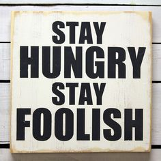 Stay Hungry White, $37, now featured on Fab.