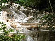 Dunn's River Falls, this was my favorite stop in Jamaica!