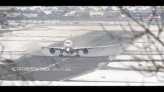 SNOWY RUNWAY TOP VIEW | PLANESPOTTING WITH ATC | ZURICH AIRPORT 18.01.2021