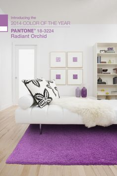 Pantone Color of the Year 2014, Radiant Orchid #greenwellgroup #kathygreenwell