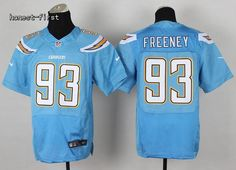 San Diego Chargers #93 Dwight Freeney Blue