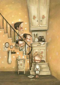 """Olivier Twist"" scénariste Juliette Saumande, illustration Daniela Volpari."
