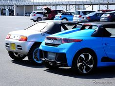 """PHOTO 10: Car: HONDA: S660: 【ホンダ S660 プロトタイプ 公開】ホンダの軽ミッドシップ、新旧比較… ビート と S660 を並べてみた 