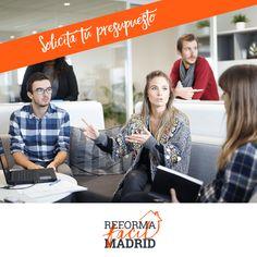En Reforma Fácil Madrid tenemos un equipo de profesionales altamente capacitados para atender tus reformas con total rapidez y eficacia. Te invitamos a solicitar tu presupuesto con nosotros, no te arrepentirás. ¡Trabajamos para ti! www.reformafacilmadrid.es | Tel.: 637637891  #ReformaFacilMadrid #Reformas #Madrid