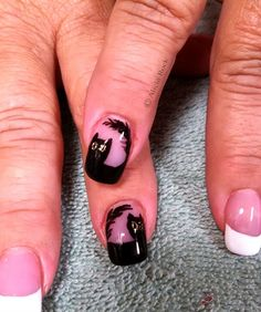 Black Cat by aliciarock from Nail Art Gallery