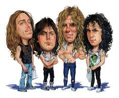 Metallica by Art   - Metallica Painting - Metallica Fine Art Prints and Posters for Sale