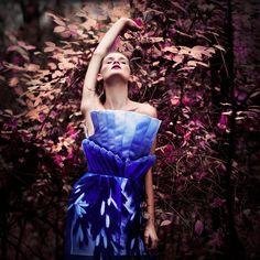 model: Kristína M. dress: Lucia Ivanová hair: Zuzana Bohunská make up: Katarína Kupčová