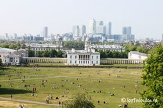 vue du parc de Greenwich