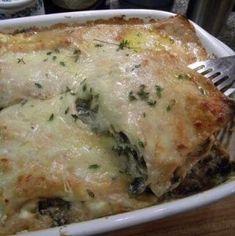 Mushroom Lasagna Wit
