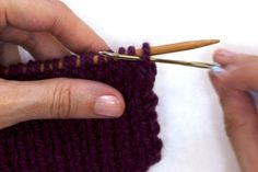 A Good Turn: Mastering the Tubular Bind-off step by step with photos, from Twist Collective.