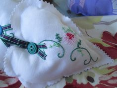 Vintage fabric lavender heart - new shop