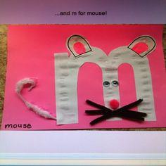 LETTER VAN DE WEEK De M van muis