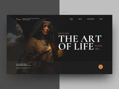 Fotografie-Website - Comparto mis ideas creativas y originales. Layout Design, Interaktives Design, Website Design Layout, Graphic Design, Web Design Websites, Site Web Design, Web Design Trends, Website Design Inspiration, Photoshop