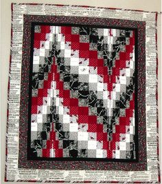 1000 Images About Red And White Black And White Quilts