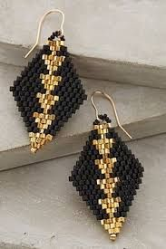 Image result for beaded earrings