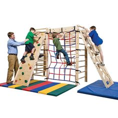 Southpaw's In-FUN-ity Climbing System can go into any clinic or classroom and is expandable to any size. Climbing enhances body awareness, body scheme, motor planning and bilateral coordination. The child's body weight, combined with gravity, provides additional proprioceptive feedback to his joints, helping the child coordinate his movements while working toward increasingly complex motor planning events. Arm and leg coordination (bilateral coordination) is enhanced as he climbs up the…