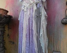 boho wedding bohemian wedding dress formal by wildskin Bohemian Gypsy, Gypsy Style, Vintage Bohemian, My Style, Formal Dresses For Weddings, Dress Formal, Wedding Dresses, Lion Halloween Costume, Vintage Inspired Dresses