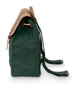 SOLSTICE pine | Fitz & Huxley Fitz Huxley, Unisex, Sling Backpack, Pine, Laptop, Backpacks, Bags, Fashion, Minimalist Design