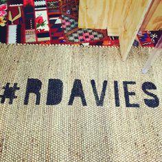 R. Davies rug design #rdavies for the Capsule Mens in New York S/S 15