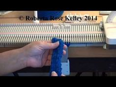 Very easy trim to make with a punch card, electronic or manual selecting needles knitting machine to make this trim. Knitting Machine Patterns, Baby Sewing, Knitting Needles, How To Apply, Braid, Cards, Youtube, Embellishments, Locs