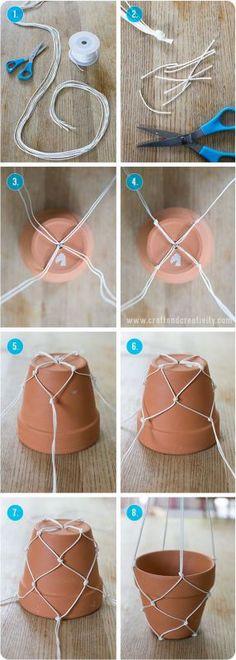 29 macrame diy plant hanger tutorials hanging pots