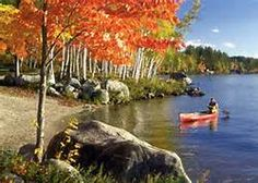 canoeing in fall' - Bing Images..BEST TIME TO CANOE UP NORTH!