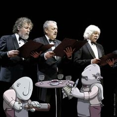 """""""Les Luthiers"""" Lucas Levitan - creator of the Photo Invasion project"""