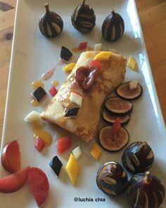 Crêpe avec Confiture de Figue #luchiachia #chef #pastrychef #foodblogger #foodblog #chefsofinstagram #organic Fruits and Ingredients #healthyfood #breakfast #delicious #yummy #yummyfood #foodie #foodiegram #gourmandise #foodlover #instafood #siliconvalley #bayarea #sanfrancisco #california #photooftheday
