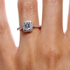 """""""Blood diamond"""" forever changed my view of what should be a beautiful symbol.   This site has all kinds of ethically sourced/produced diamond engagement rings."""