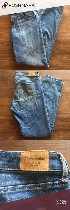 Abercrombie & Fitch Skinny Jeans 6 SHORT Abercrombie & Fitch Skinny Jeans size 6 short waist 28 length 31 worn once excellent used condition Abercrombie & Fitch Jeans Skinny