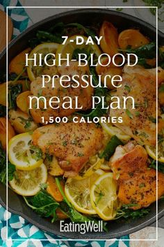 The meals and snacks in this 7-day 1,500-calorie meal plan follow both the DASH diet (Dietary Approaches to Stop Hypertension) eating pattern and the American Heart Association recommendations for a heart-healthy diet. #mealplan #mealprep #healthymealplans #mealplanning #howtomealplan #mealplanningguide #mealplanideas #recipe #eatingwell #healthy Dash Diet Meal Plan, Healthy Diet Meal Plan, Dash Diet Recipes, Heart Healthy Diet, Heart Healthy Recipes, Diet Meal Plans, Heart Diet, Diet Meals, Recipes For One