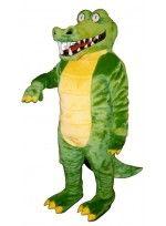 Mascot costume #139-Z Brawny Gator