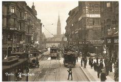 ca 1905 Koenigstrasse (Rathausstrasse)Blickrichtung Alexanderplatz