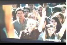 Three finger salute  Gale , Prim and Mrs.Everdeen from new tv spot