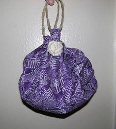 No sew purse