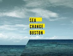 SEA CHANGE BOSTON project The Sea Change: Boston exhibition at District Hall examines Boston's vulnerabilities to sea level rise and demonstrates proactive design strategies at the building, city, and regional scale. The exhibition is intended to catalyze conversations with a broader audience about the tough questions and regional implications of sea level rise.
