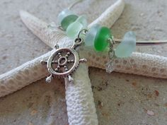 Seaglass Bracelet by AngelinaWillowb on Etsy, $21.99