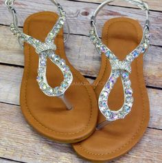 Sparkly sandals<3