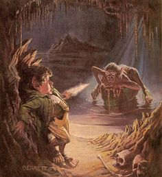 The Hobbit has been inspiring artists and readers for generations, ever since its publication 80 years ago today. Artwise, I've always had a soft spot for The Hobbit; I love that it lends itself eq… Jrr Tolkien, Tolkien Books, Gandalf, Legolas, Hobbit Art, O Hobbit, Beau Film, Dark Fantasy, Fantasy Art