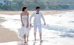 フォトギャラリー 沖縄ロケーションウェディングフォト エメラルドオーシャンウェディングで実際に撮影できる結婚写真をご紹介します。