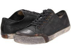 Frye Greene Low Lace Black Stone Antiqued - Zappos.com Free Shipping BOTH Ways